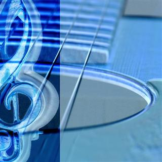 Guitar and Treble Clef