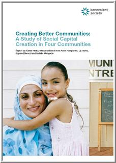 Cover of Creating Better Communities Report