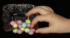 Hand sampling sweets