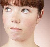 Girl - Wry Face